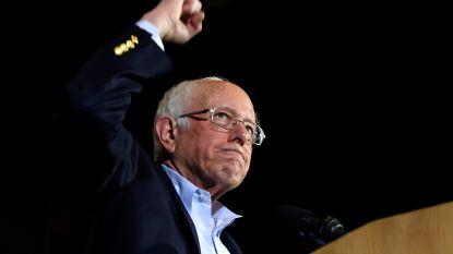 Sanders wint overtuigend in Nevada