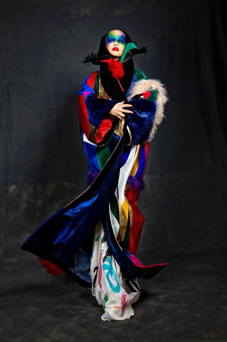 Ronald van der Kemp 'Wardrobe 12' - Fall 2020. Beeld Marijke Aerden