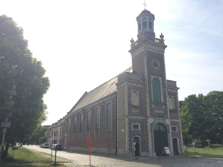 het kerkje van Meulestede