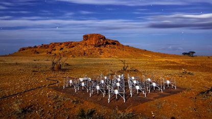 Grootste radiotelescoop ter wereld van 1 vierkante km kan terugblikken tot net na oerknal