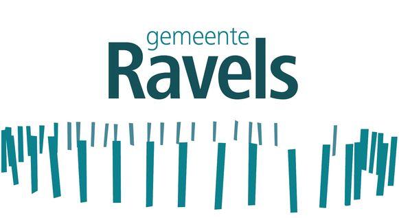 Het logo van de gemeente Ravels
