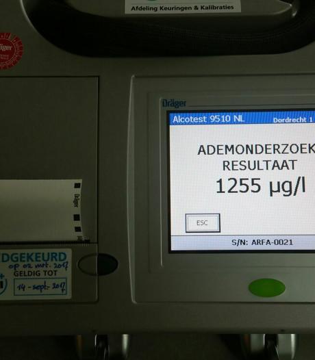 Bestuurder met 'paar borreltjes' op aangehouden in Sterrenburg