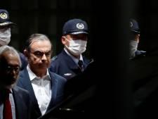 Carlos Ghosn a quitté le centre de détention de Tokyo