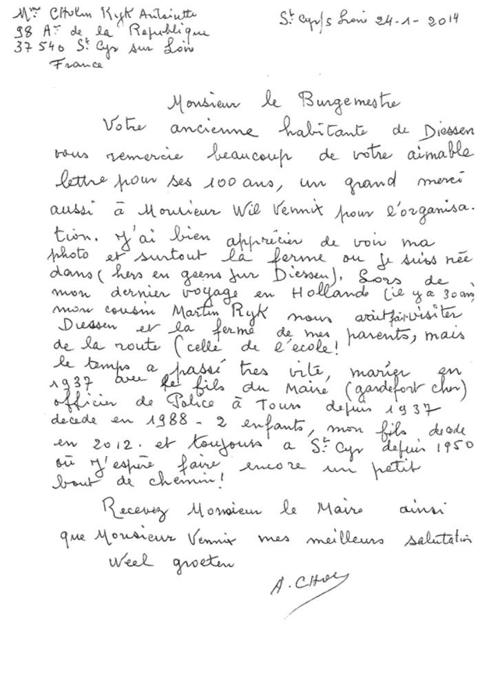 Het antwoord van Antoinette Rijk aan burgemeester Palmen van HIlvarenbeek