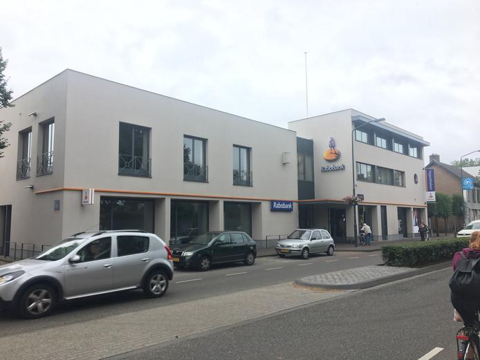 Het huidige pand van de Rabobank in Goirle.