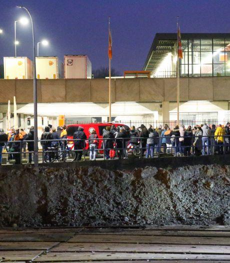 Brand in postsorteercentrum PostNL in Rotterdam