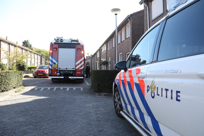 Incident in Duivenstraat Oss.