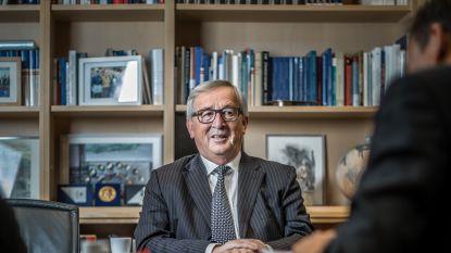 """Exclusief. Een hoffelijk twistgesprek met Jean-Claude Juncker: """"Dus u vindt dat ik mijn functie oneer aandoe?"""""""