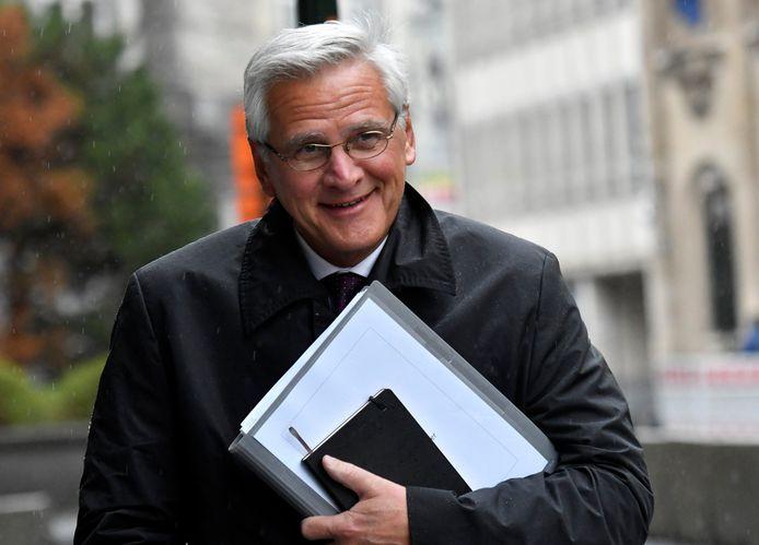 Minister van Werk en Economie Kris Peeters.