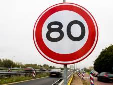 Eén op drie heeft lak aan limiet op 80-kilometerweg