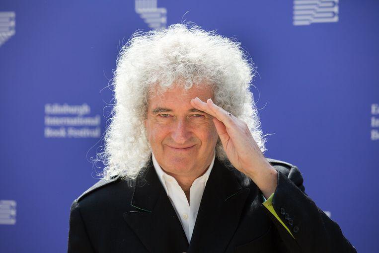 Brian May, gitarist bij Queen.