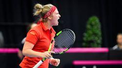 Ook Bonaventure stunt tegen Spaanse klepper: België leidt opnieuw de dans in Fed Cup