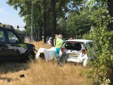 Twee gewonden bij ongeluk op N65 bij Biezenmortel, file richting Tilburg