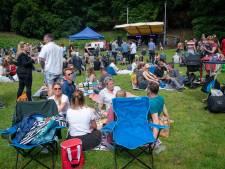 Regen deert publiek Park Open niet