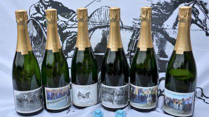 Winkel Koerse Champagne met zes verschillende etiketten, voor de eerste keer is er een afhaalmoment