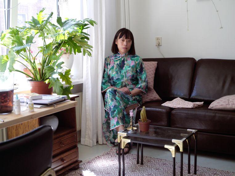 Evelyn Taocheng Wang. Beeld Galerie Fons Welters, Amsterdam en Carlos Ishikawa, London