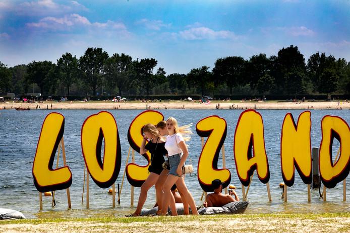Festival Los Zand festival op Berkendonk in Helmond.
