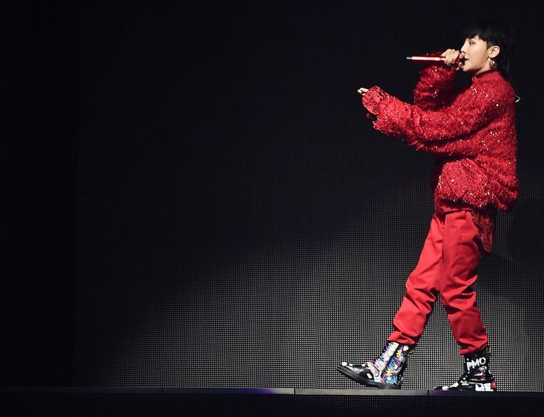 Stijlicoon G-Dragon Beeld Getty Images