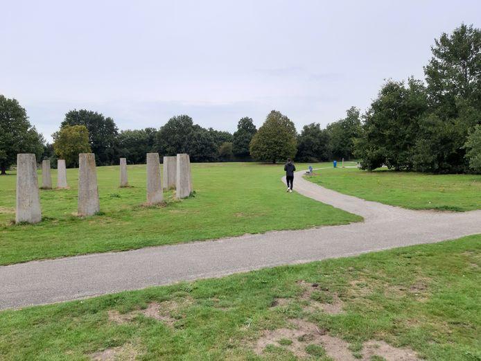 Het Schelfhorstpark in Almelo.