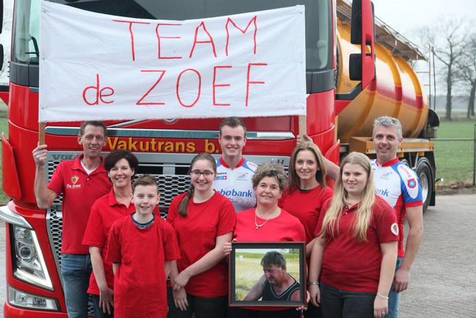 De deelnemers team De Zoef