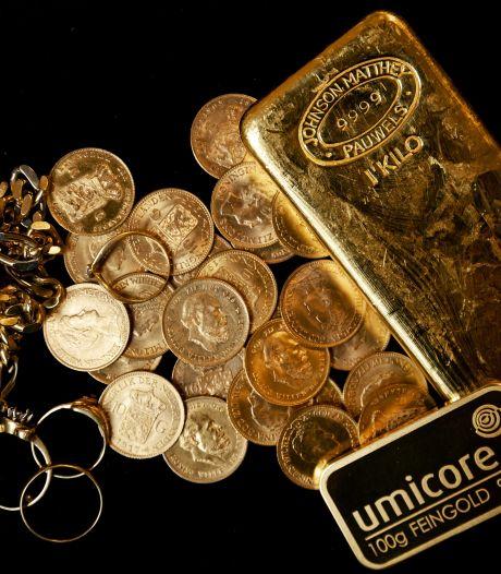 Goudprijs stijgt voor het eerst tot boven de 2000 dollar