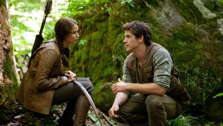 Scène uit The Hunger Games Beeld ap