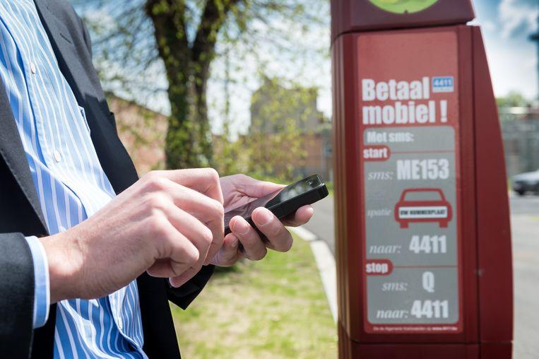 Sms-parkeren wordt ingevoerd.