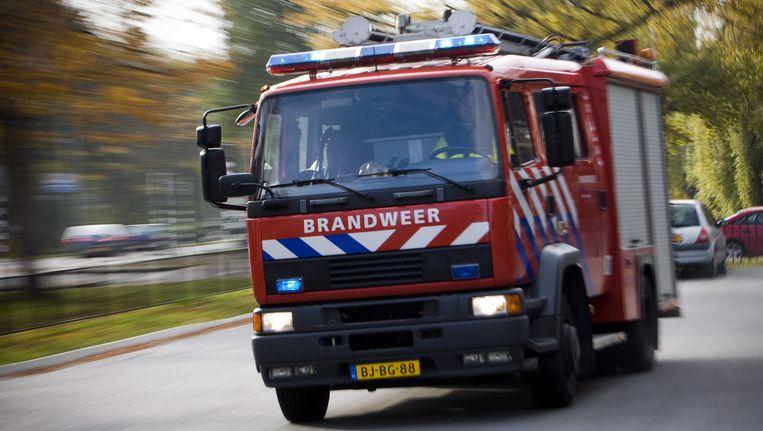 Ter illustratie: een brandweerauto Beeld ANP