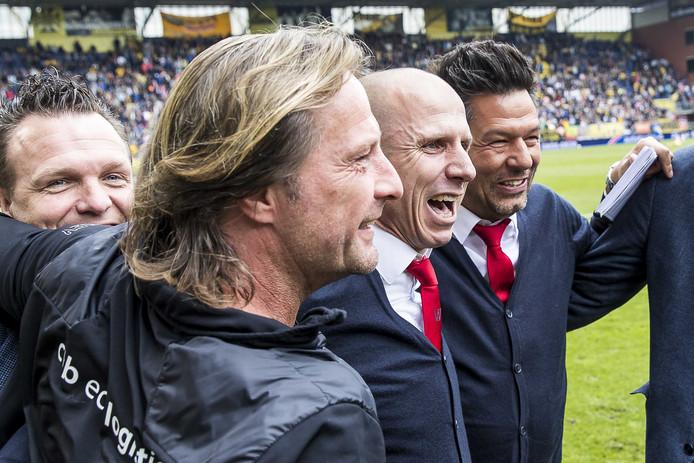 Vreugde bij de staf van Willem II.