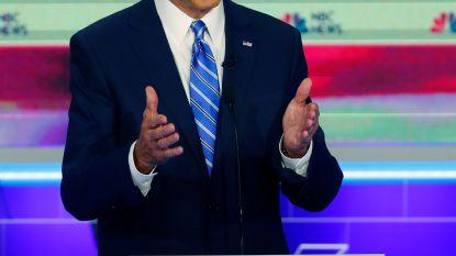 Koploper Biden onderuit in eerste debat