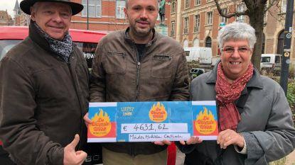 Leuvense shoppers schenken 4631,62 euro