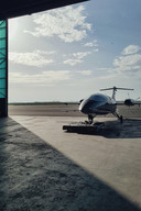 De nieuwe terminal van NSAC is klaar voor de ontvangst en vertrek van privé- en zakelijke vluchten