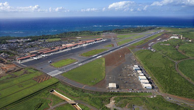 Het vliegveld van Maui Beeld thinkstock