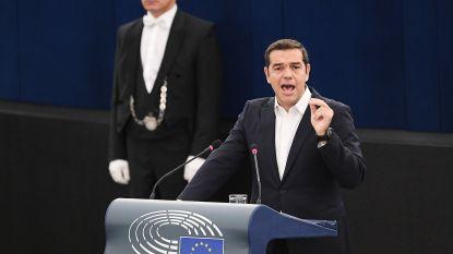 """Griekse premier: """"Dreiging komt niet van zij die Europa willen veranderen, maar willen afschaffen"""""""