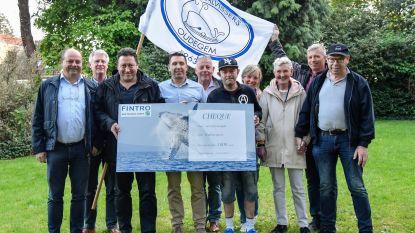 Walvissers schenken cheque aan Levensvreugde