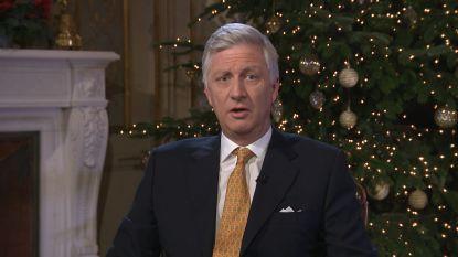 """Koning Filip roept in kersttoespraak op tot snelle vorming federale regering: """"Dat is wat we nu allemaal verwachten"""""""