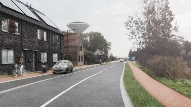 Koksijde legt twee veilige fietspaden aan langs Nieuwpoortsteenweg