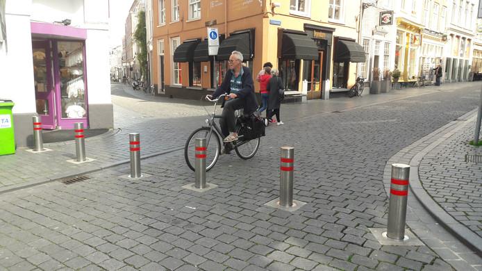 De leerlingen willen het centrum van Bergen op Zoom autovrij maken.