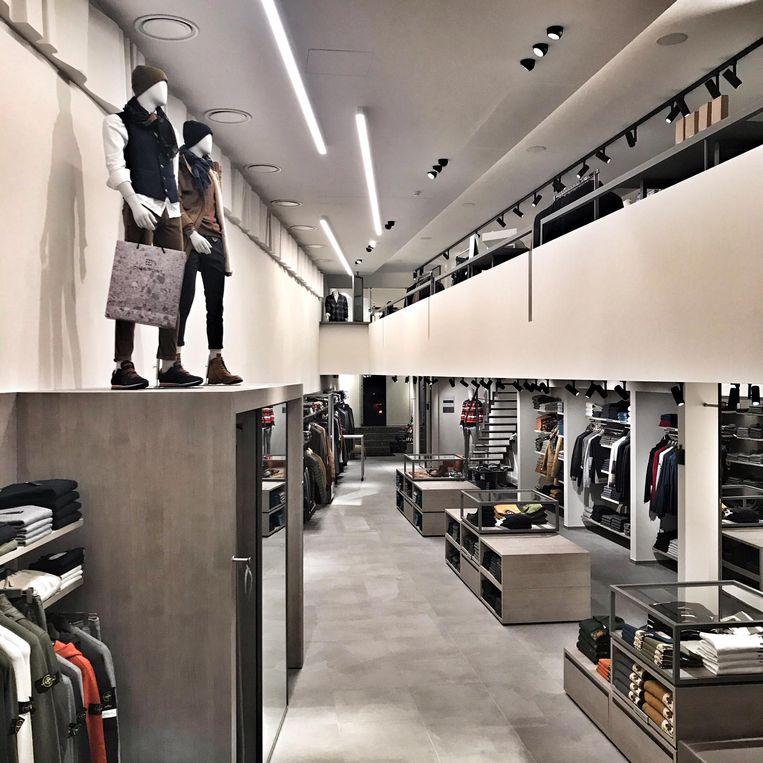 Een blik in de totaal vernieuwde winkel.