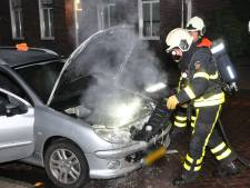 Autobrand in Waalwijk