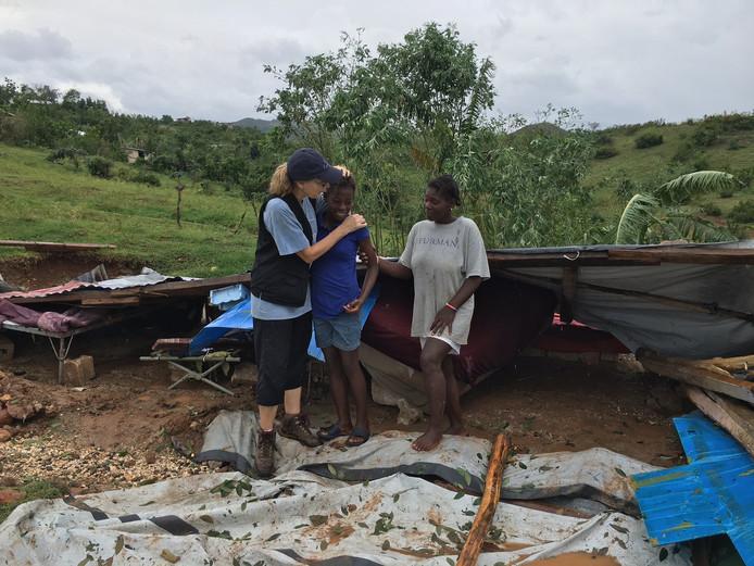 Marianne Lako bekommert zich om kinderen die hun huis zijn kwijtgeraakt.