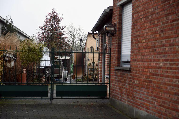 Garagebrand in de Bieststraat in Boortmeerbeek.