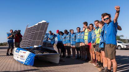 Leuvens team wint World Solar Challenge in Australië: 3.020 kilometer met gemiddelde van 86 per uur