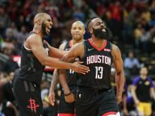 Harden helpt Rockets met 50 punten aan winst op Lakers