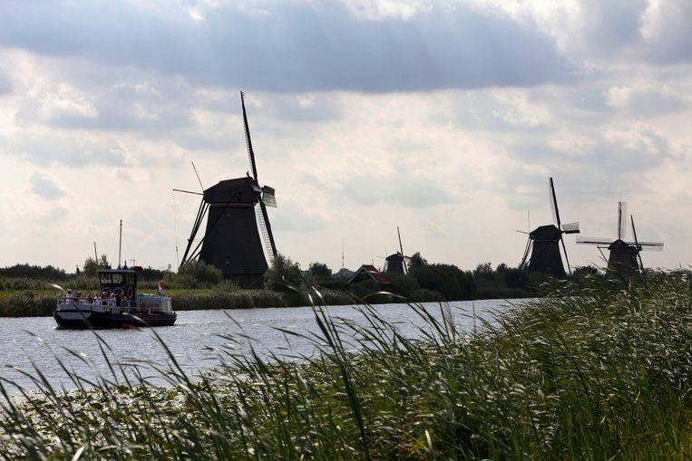 De bewolking wint terrein in Nederland de komende dagen. Beeld null