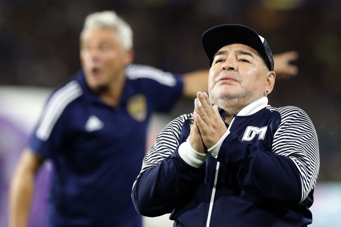 Diego Maradona is op 60-jarige leeftijd overleden.