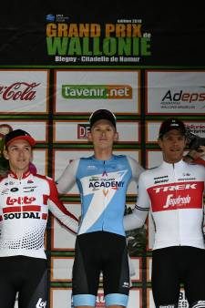 Neilands houdt Stuyven en De Buyst achter zich in GP Wallonië