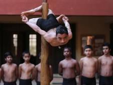 Deze spectaculaire Indiase gymnastiekvorm wordt steeds populairder