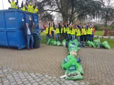 Beuningen weer een stukje schoner door inzet vrijwilligers