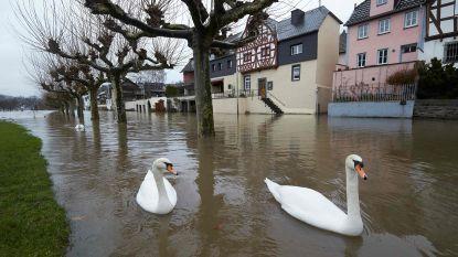 Evacuaties wegens wateroverlast in het zuidwesten van Duitsland